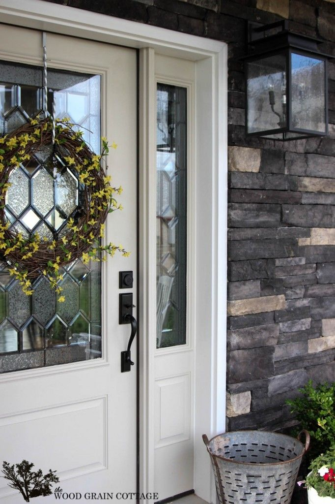 114 Best Images About Doors Porches On Pinterest Porch Makeover Blue Doors And Porches
