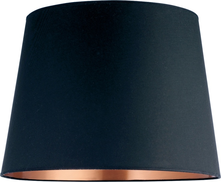 Grande skjerm med metallisk interiør. Kan benyttes både til stålamper og pendler. Fåes i to størrelser og flere ulike farger. Dimensjoner: D50 x H36 cm. Kr. 965,-