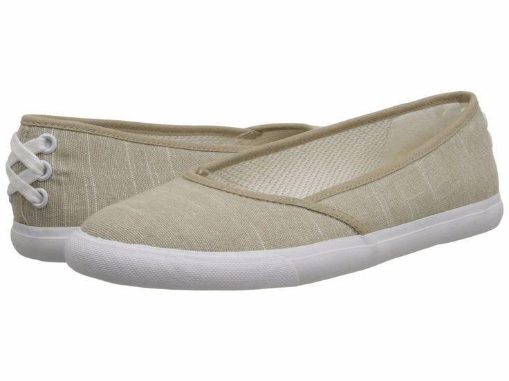 LifeStride Women's Invest Too Canvas Tan Tropez Ballet Flats Shoes 6 Med (B,M)  #LifeStride #BalletFlats