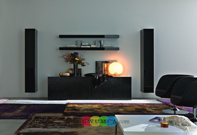 Living Room:Decorating Brazilian Living Room And Lighting With Sofa Furniture Coffee Table Chairs Rug Design For Small Spaces TV Wall Units 33 In Black Color 880x605 Luxury Living Room Decor of an Art Collector by Gisele Taranto