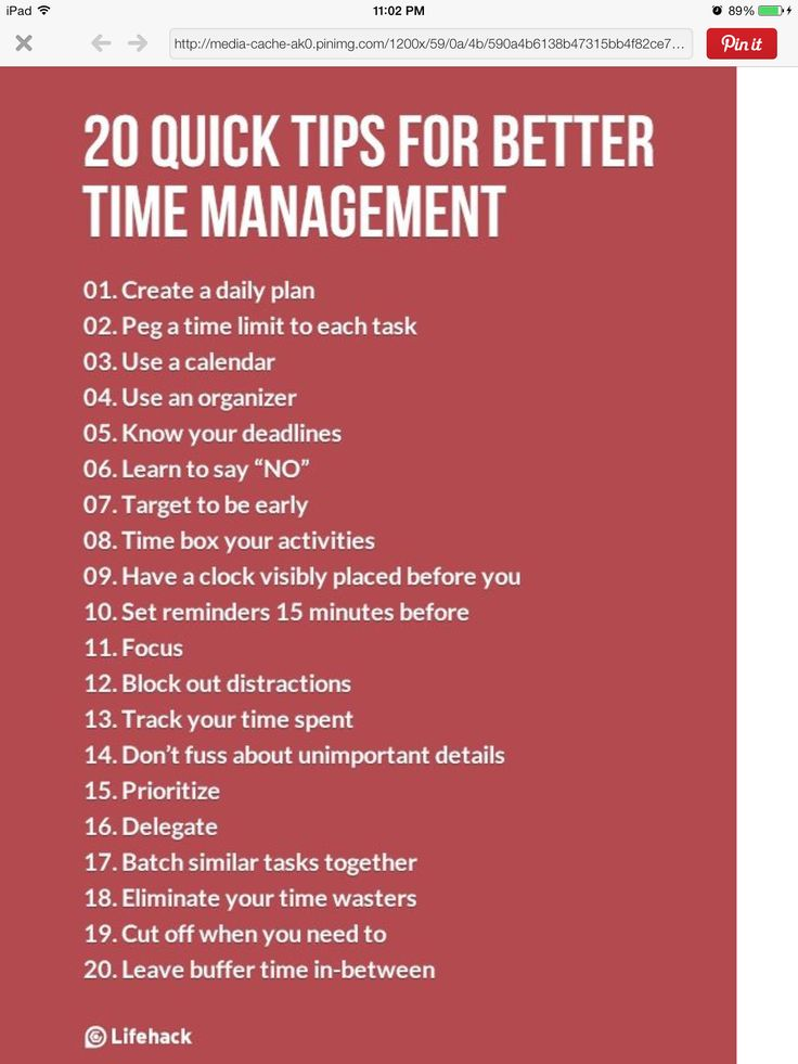 Time mgt