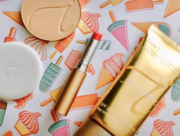 Natural cosmetics by Jane Iredale