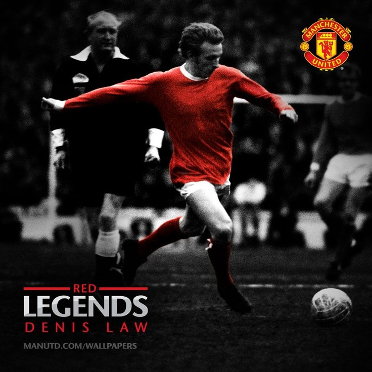 The King of the Stretford End… #DenisLaw #ManUtd