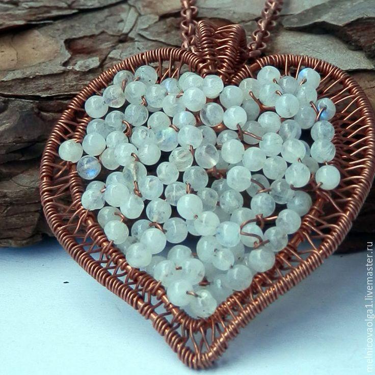 лунный камень кулон сердце - Поиск в Google
