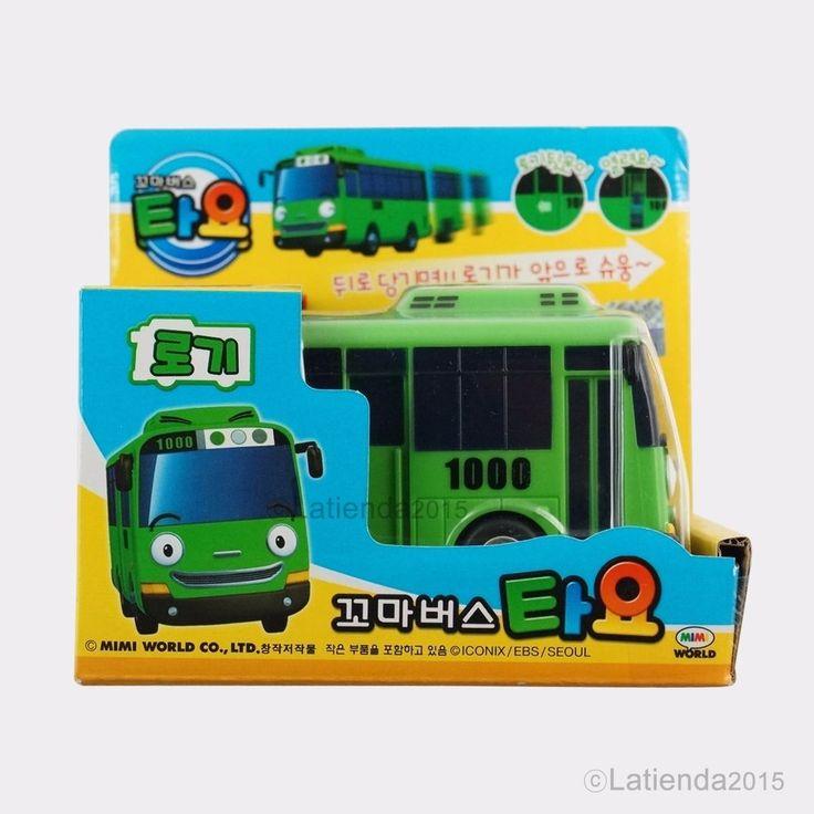 #Rogi #TheLittleBus #Tayo #Korea #TV #Animation #Character #Plastic #Toy 4.3 inch #MimiWorld