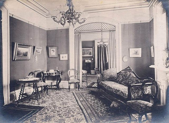 """Victorian parlor 1880's"""