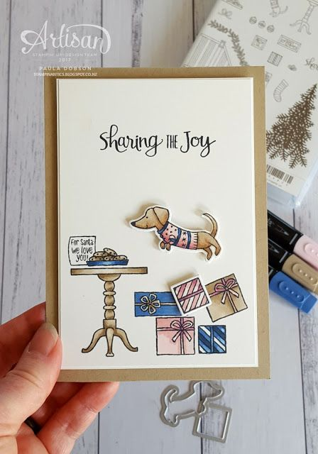 Feel like an artist when you colour with the new alcohol based Stampin' Blend Markers! - Paula Dobson  #pauladobson #stampinantics #stampinblends #readyforchristmasbundle