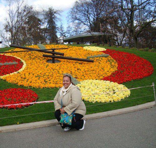 Reloj Floral Ginebra-Fotografía: Liz Nz