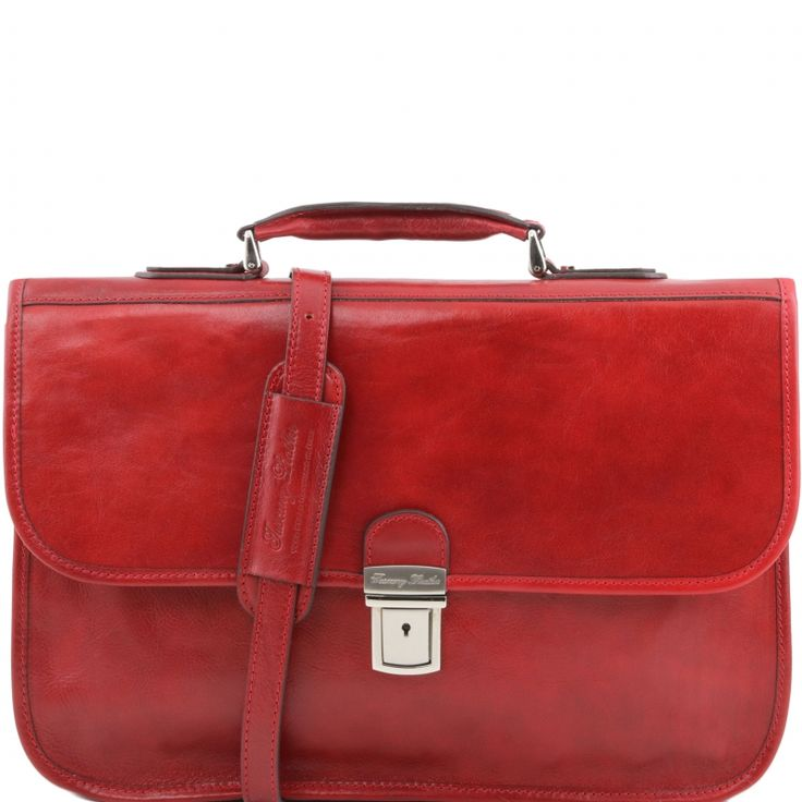 SAN GIMIGNANO - Lederen aktetas - TL141340 - Tuscany Leather