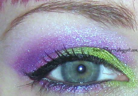 A look Phryrra (phyrra.net) did with Glamour Doll Eyes! They have AMAZING colors and I ordered 10 samples from them (random ones!), can't wait til I get them!