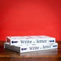 Brand New and perfect to keep them away from the screen for a little bit of time! Letter writing set for Children
