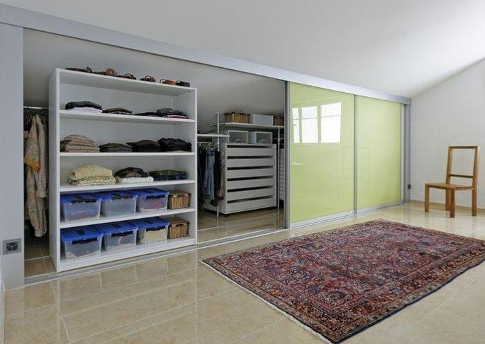 Begehbarer Kleiderschrank Schranksystem Stauraum Ideen Schlafzimmer