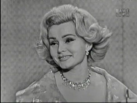 What's My Line? - Zsa Zsa Gabor; Alan King [panel] (Jul 24, 1960)