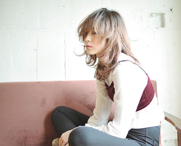 ウルフベースのグラデーションカラー - MEDIUM - HAIRCATALOG.JP/ヘアカタログ.JP