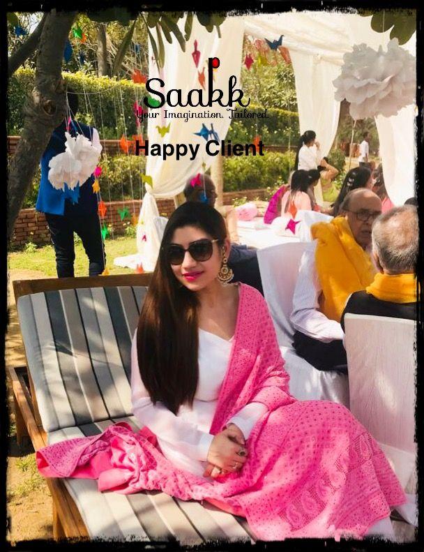 Simplicity is the ultimate form of sophistication!! #happyclient #happyus #dressadoll #summerday #summerfashion #saakk #saakkbysakshi #saakkyourimaginationtailored