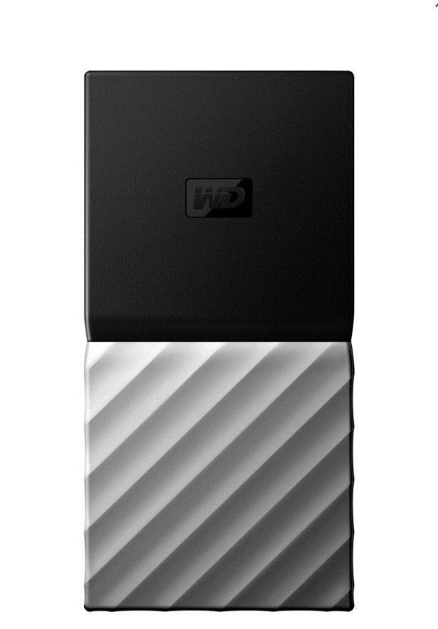 WD -My Passport SSD 1TB External USB 3.1 Gen 2 Portable Hard Drive - Black new #WD