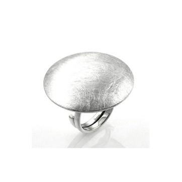 MILA BRUSHED MOON ring