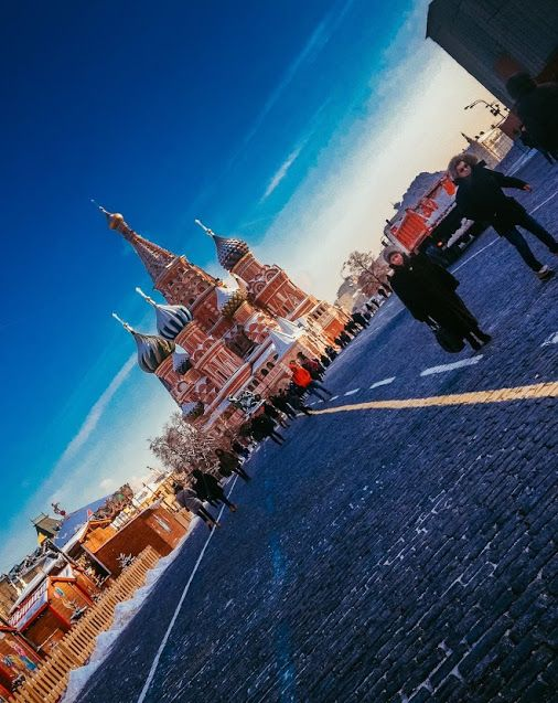 Unconventional view on Red Square