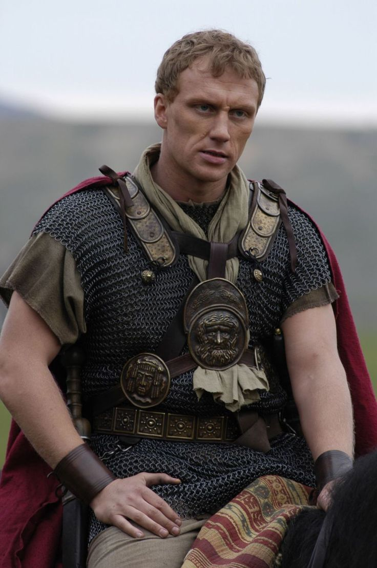 Kevin McKidd as Vorenus in HBO's outstanding and critically acclaimed series, 'ROME'.