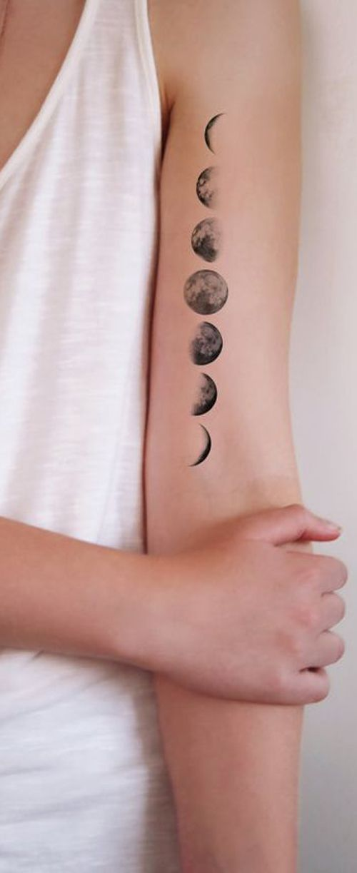 25 best ideas about small moon tattoos on pinterest for Stomach tattoo pain level