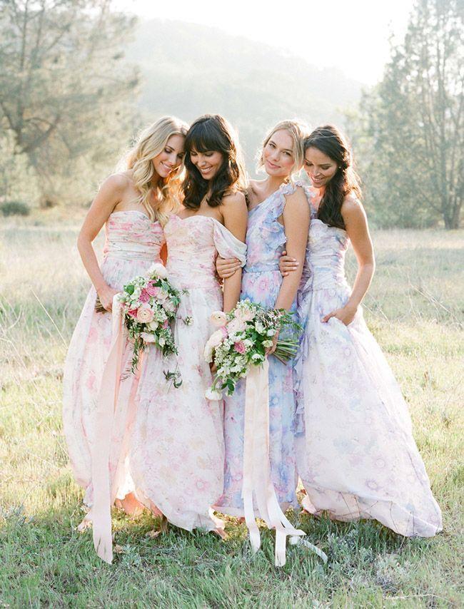 Plum pretty sugar bridesmaids dresses http itgirlweddings com floral  bridesmaids181 best  Bridesmaid Dresses  images on Pinterest   Bridesmaids  . Destination Wedding Bridesmaids Dresses. Home Design Ideas