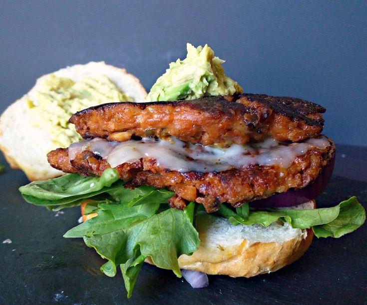 southwest veggie burger patties recipe (gluten-free)