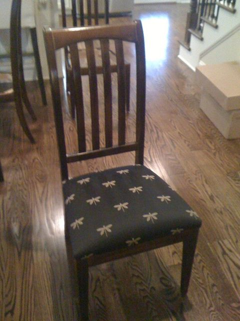 Recovering Kitchen Chair Cushions With Instructions For Corners For The Home Pinterest