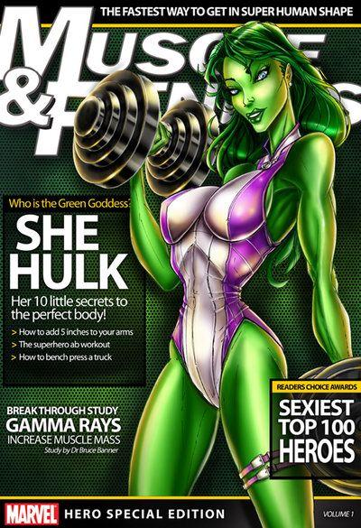 Sie hulk sexy Bilder