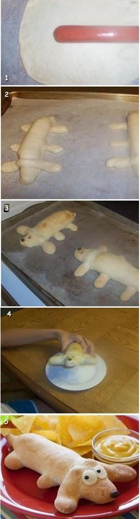 Hot Dog Inside A Dog Recipe