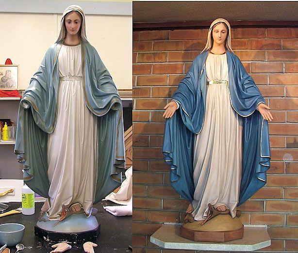 Sacred Art - Restorations - The Studio of John the Baptist : sacredart.co.nz