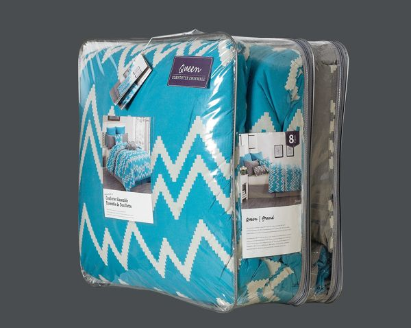 selected bedding packaging by Kori Gervasio, via Behance ...