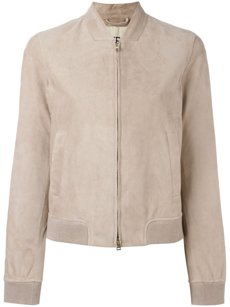¡Cómpralo ya!. Herno - Zipped Leather Jacket - Women - Cotton/Elastodiene/Polyamide/Goat Suede - 48. Beige goatsuede zipped leather jacket from Herno. Size: 48. Color: Nude/neutrals. Gender: Female. Material: Cotton/Elastodiene/Polyamide/Goat Suede. , chaquetadecuero, polipiel, biker, ante, antelina, chupa, decuero, leather, suede, suedette, fauxleather, chaquetadecuero, lederjacke, chaquetadecuero, vesteencuir, giaccaincuio, piel. Chaqueta de cuero  de mujer color beige de HERNO.