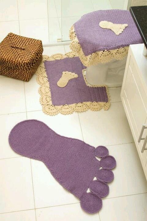Rug foot
