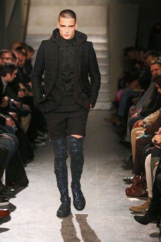 Glittery Thigh-High Male Boots: Givenchy Gets Men on Over-the-Knee Footwear