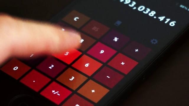 Llumino by cocopon is a simple, beautiful calculator for your iPhone that sparkles with your favorite color.