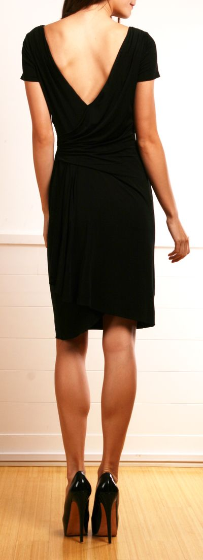 The perfect little black dress by David Meister. Originally $450 gently used for $80!