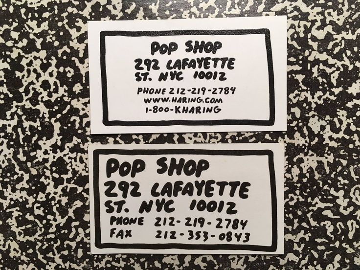 Favorite business card lettering from my favorite shop growing up  @itsnicethat   via @VernacularType