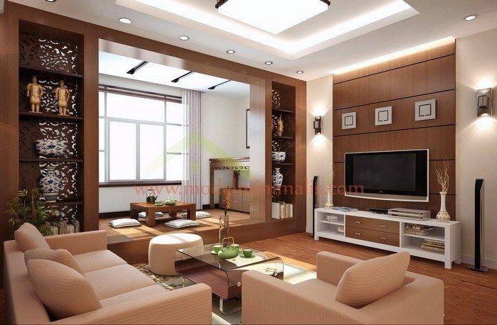 77 Desain Ruang Keluarga Minimalis (Terbuka, Lesehan, Elegan, Klasik, dan Modern)