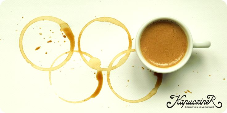 2016 Rio Olimpic Games! Drink Kapucziner coffee stay awake and cheer! #coffee, #olimpic