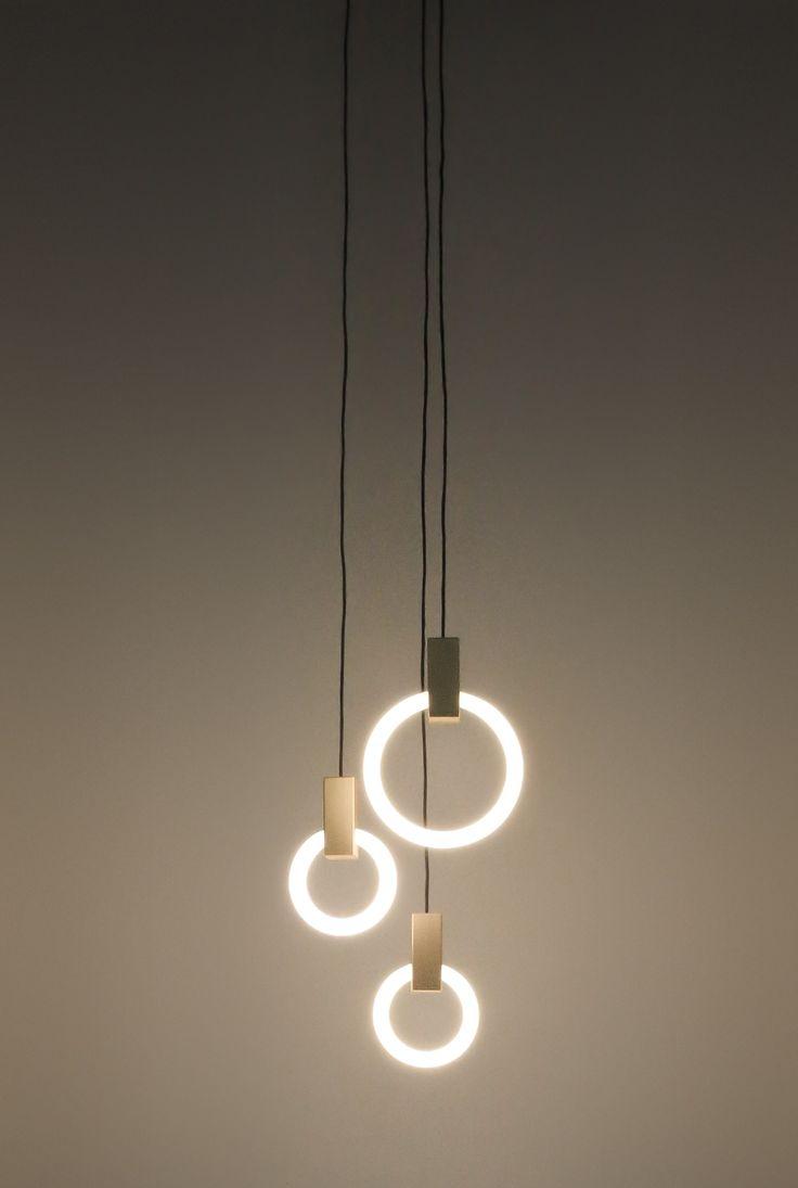Aluminium pendant lamp HALO by Matthew @Matt_McCormick  design Matthew McCormick