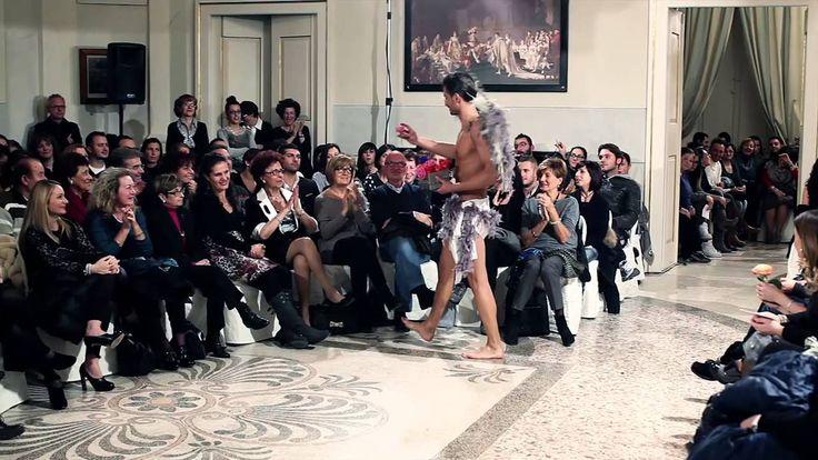 Emiliano for Dina Bengasi sfilata collezione 2014 sposa sposo cerimonia ...