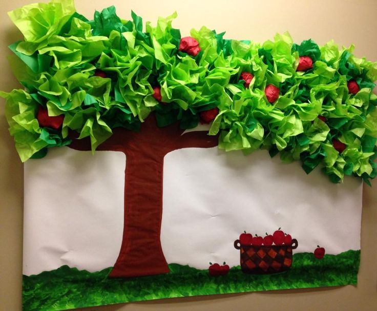Apple Tree Bulletin Board for the month of September