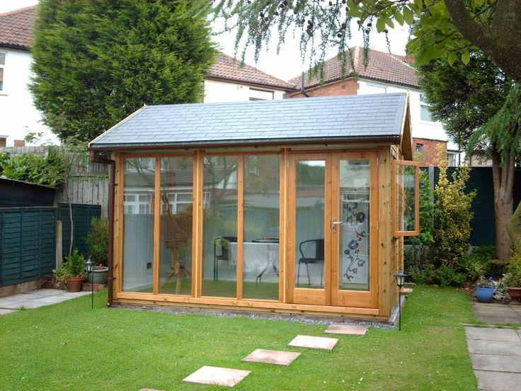 Backyard art studio
