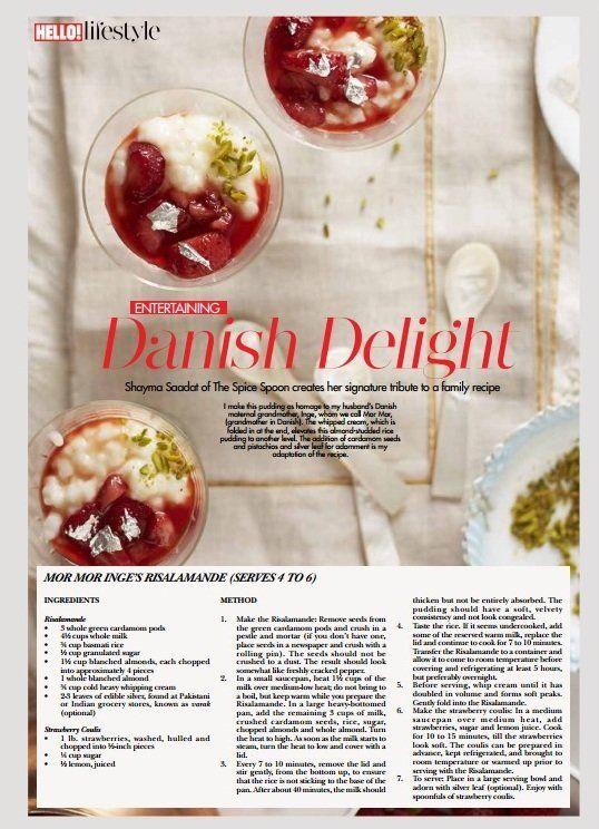 Eid Mubarik – Risalamande with Strawberry Coulis — Silk Route food memoir by Shayma Saadat – The Spice Spoon