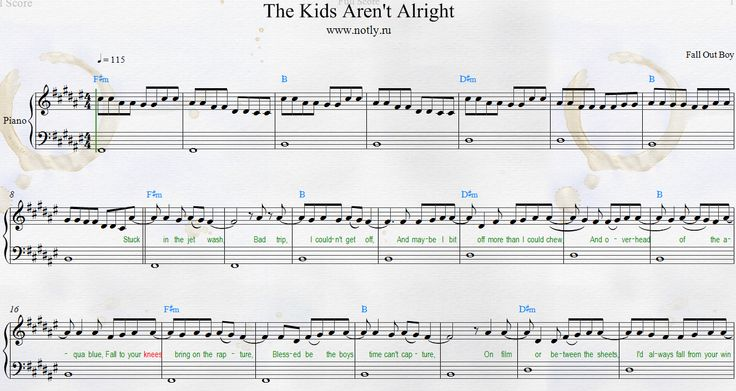 The Kids Aren T Alright Fall Out Boy Meaning