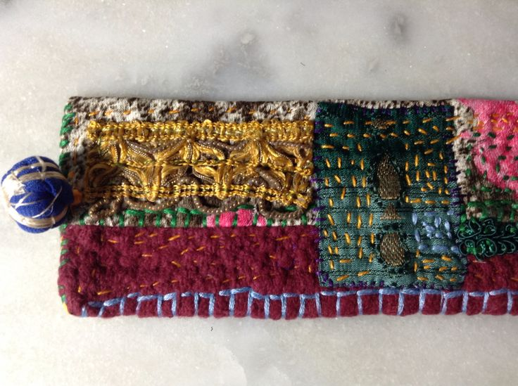 Handmade textile colors
