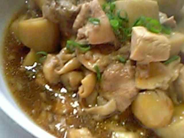 とろっと★てりっと!簡単!里芋と鶏の煮物の画像