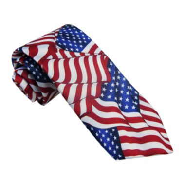 American Lifestyle All-American Flag Tie | American flag ...