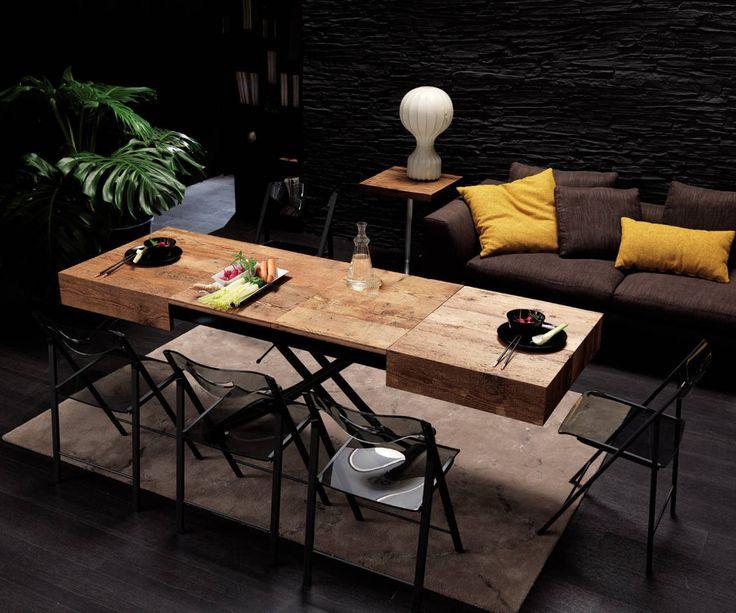 ¡Todos a comer! 10 geniales mesas extensibles https://www.homify.es/libros_de_ideas/95879/todos-a-comer-10-geniales-mesas-extensibles