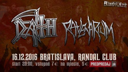 #Deathrevival #undyingtube #death #chuckschuldiner #metal #rock #live #deatmetal #ravenarium #randalclub #ymca #club #pridavamekoncerty #predpredaj #bratislava #youtube #twitter #musiclife #mmc #concert #branislav_jurnecka